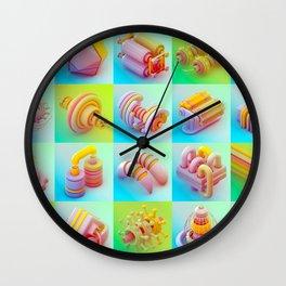 Infernal Machines Wall Clock