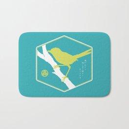 If A Bird Doesn't Sing Series 3 of 3 Bath Mat