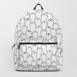 Otter pattern Backpack