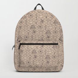 Retro asian pattern Backpack