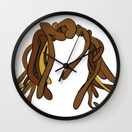 Dreads Wall Clock