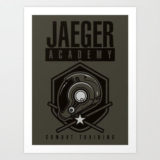 Jaeger Academy Art Print