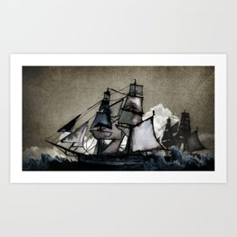 The Tightrope Art Print