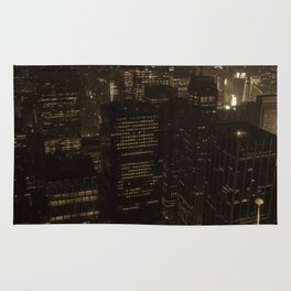 NYC in Sepia Rug