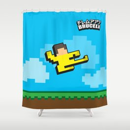 FLAPPY BRUCELii Shower Curtain