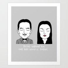 G & M Art Print