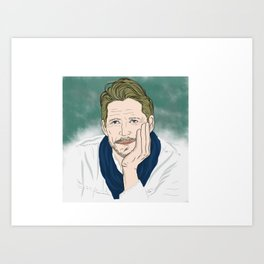 Sean Maguire / Robin Hood (Once Upon A Time) Art Print