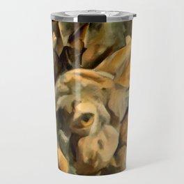 Splitting Hares Travel Mug