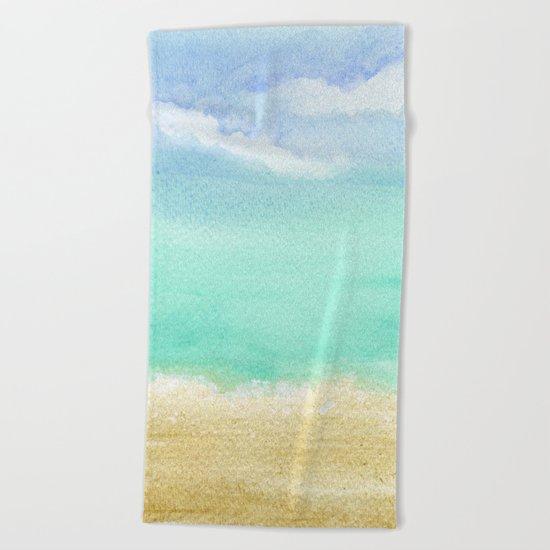 Calm Beach Towel