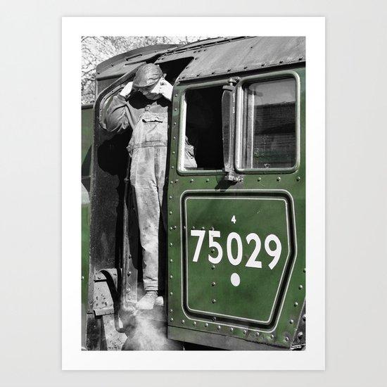 The Green Knight Driver Art Print