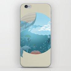 Whale Jump iPhone & iPod Skin