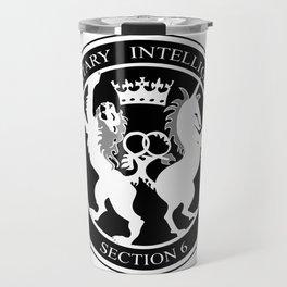 MI6 Logo (Millitary Intelligence Section 6) Travel Mug