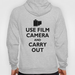 USE FILM CAMERA AND CARRY OUT Hoody