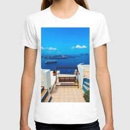 Volcano View,Santorini T-shirt