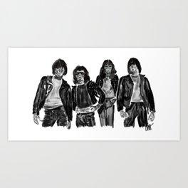 Ramons Art Print