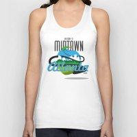 atlanta Tank Tops featuring Midtown Atlanta by Niels Revers Design