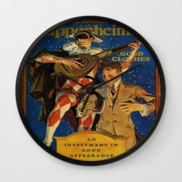 Vintage poster - Kuppenheimer Wall Clock