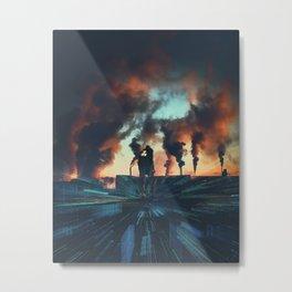 Radioactive man Metal Print