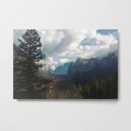 Glorious Yosemite Metal Print