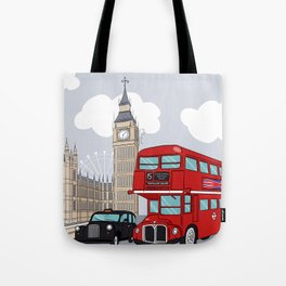 London style Tote Bag