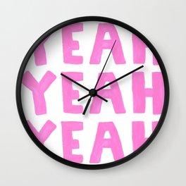 Yeah Yeah Yeah Wall Clock