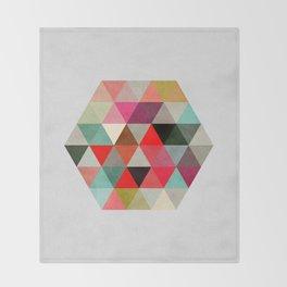 Geo Hex 03. Throw Blanket