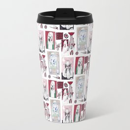 Red, White and Bait Travel Mug