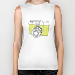 Diana F+ Glow - Plastic Analogue Camera Biker Tank