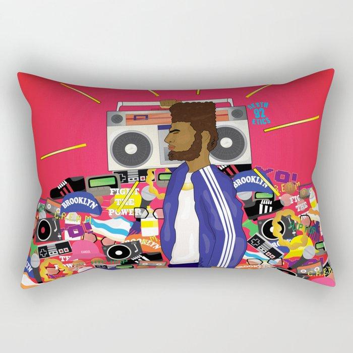90 Daze Rectangular Pillow