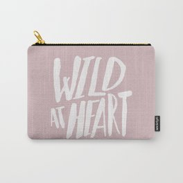 Wild at Heart x Pink Carry-All Pouch