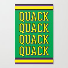 Quack Attack Canvas Print