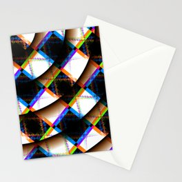 Raised Checkering Stationery Cards