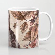 Tawny Owl Pink Mug