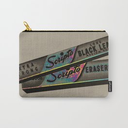 Scripts Ad Print Carry-All Pouch