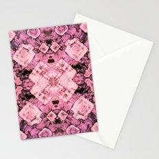 Pink Silk Tie-Dye Stationery Cards