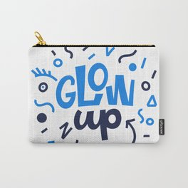 GLOW UP! Lettering. Carry-All Pouch