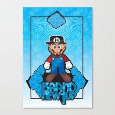 Mario Heisenberg Canvas Print