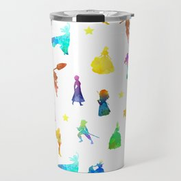 Princesses Inspired Silhouette Travel Mug
