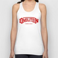 sports Tank Tops featuring DMolition Sports by DMolition
