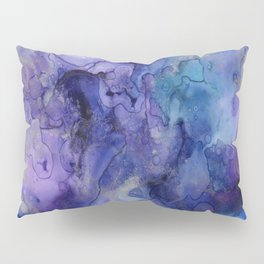 Watercolor Ink Abstract Pillow Sham