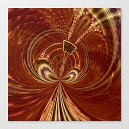 Tribal Swirl Canvas Print