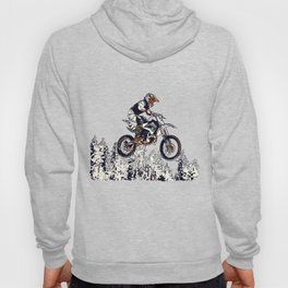 """High Flyer"" Motocross Racer Hoody"