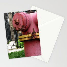 Rusty Hydrant Stationery Cards