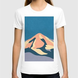 Over The Sunset Mountains T-shirt