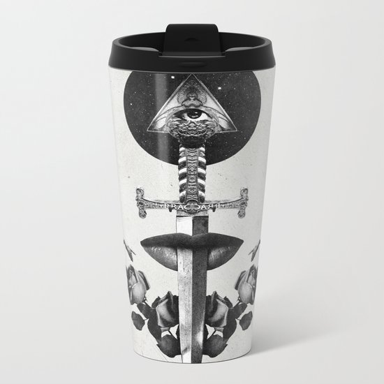 Drawing Down the Moon Metal Travel Mug