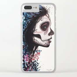 Twisted Up Clear iPhone Case