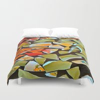 mosaic Duvet Covers featuring Mosaic by Maggie Dylan