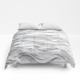 Silver Waves Comforters