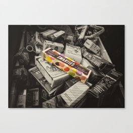 Only Smarties have the answer  Canvas Print