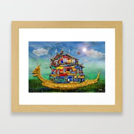 My sweet Home Framed Art Print